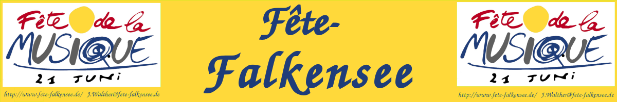 Fete in Falkensee